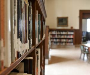 De bibliotheek in een school